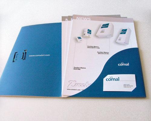 Cartelline e visual identity Torino