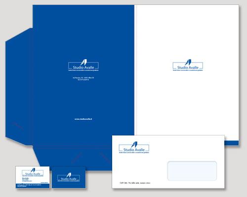 immagine coordinata Torino - brand identity aziendale