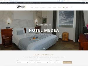 realizzazione sito web Hotel Medea Anta Vittoria d'Alba