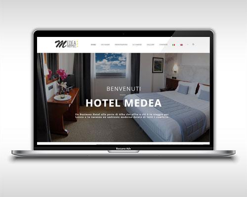 Agenzia di comunicazione Alba -Realizzazione sito Hotel