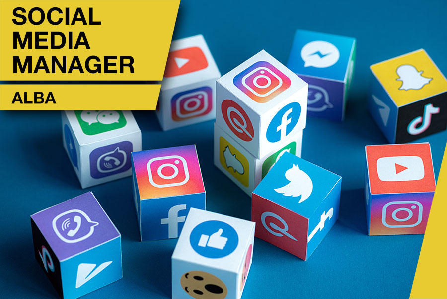 Consulente social media manager ALBA esperto in digital marketing